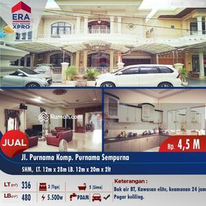 Dijual - Jalan purnama1 komplek Purnama Sempurna