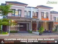 Dijual - Akses Dekat Kemana-mana Fasilitas Premium Design Nuansa Bali Cluster