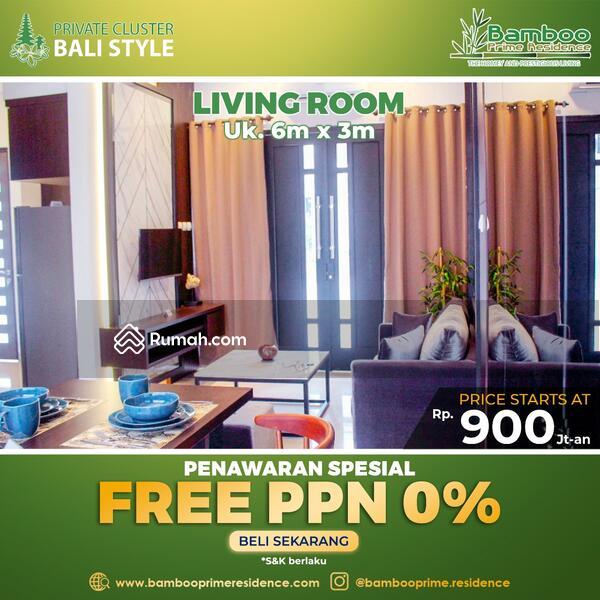 Lingkungan Sejuk & Rapih Rumah Bebas Ppn Fasilitas Premium #109057768