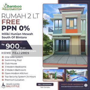 Dijual - Rumah Mewah Di Selatan Bintaro Dekat MRT Lebak Bulus
