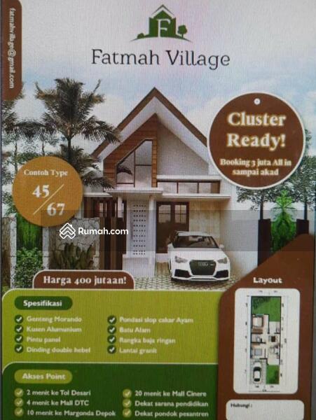 Rumah mewah harga murah dekat toll desari sawangan depok #109353414