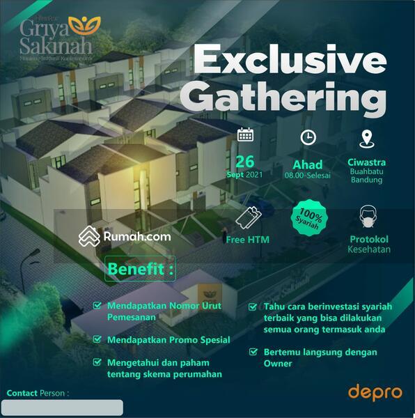 Exclusive Gathering Gratis Rumah Syariah Area Ciwastra Buahbatu Dapatkan Promonya #109173632