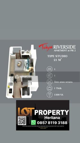 Harga di bawah market apartemen Tokyo PIK 2 Type Studio 21m #109173930