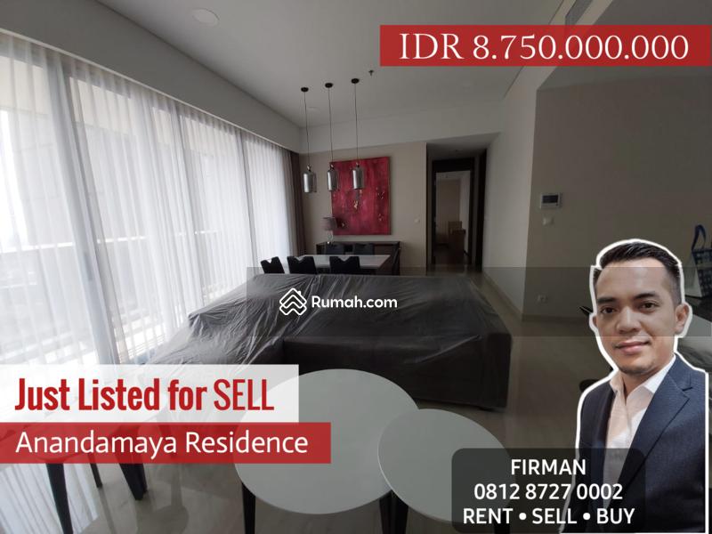 Dijual Murah 2 Bedrooms 2 BR Furnished Luas 150 sqm Apartemen Anandamaya, Sudirman, Jakarta Pusat #109186284
