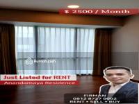 Disewa - Disewakan Murah 2 Bedrooms 2 BR Unfurnished Luas 150 sqm Apartemen Anandamaya, Sudirman, Jakarta Pus