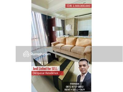 Dijual - Dijual Murah 2 Bedrooms 2 BR Full Furnished Luas 60 sqm Apartemen Denpasar, Kuningan, Jakarta Selatan