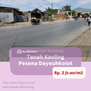 Dijual - Tanah Kavling Tepi Jalan Raya Laswi