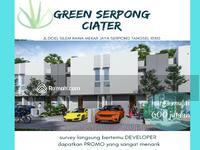 Dijual - Green serpong Ciater rumah idaman keluarga harga super murah banget di bsd