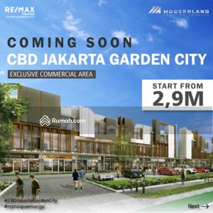 Dijual - Perdana Ruko shophouses CBD JGC Jakarta Garden City di jalan utama boulevard row50 dekat IKEA n AEON