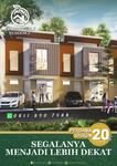 New Cluster Cinere , Rumah Baru 2 Lantai selangkah ke Mall
