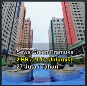 Disewa - Di Sewakan Green Pramuka Tower Bougenvile lt 5