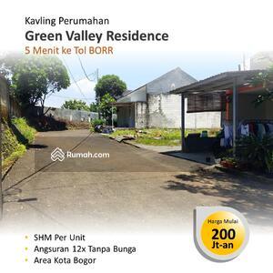 Dijual - Dekat Tol Kayu Manis, Kapling Tanah Dalam Cluster di Tanah Sereal Bogor Kota
