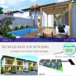 Jual Rumah Kolam Renang Jogja Desain Impian Dekat Tugu