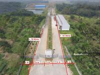 Dijual - Tanah Berkonsep Kawasan Industri Siap Bangun