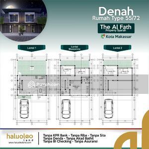 Dijual - Rumah Syariah Toddopuli Kota Makassar 2 Lantai