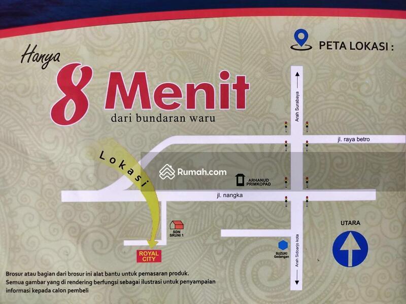 RUMAH SIDOARJO MURAH TERLARIS DI PUSAT KOTA ROYAL CITY RESIDENCE #109466306