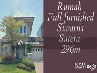 Dijual - Jual cepat rumah Full Furnished Suvarna Sutera