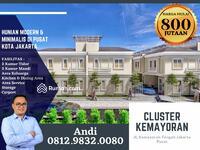 Dijual - TownHouse Modern dan Minimalis Kemayoran , Lokasi Strategis
