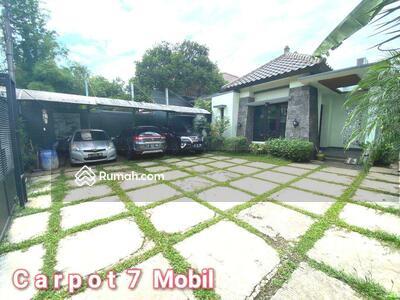 Dijual - Rumah dengan tanah luas dan desain cantik di lokasi strategis ceger