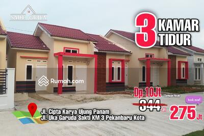 Dijual - Rumah 3 kamar Termurah se Pekanbaru Area