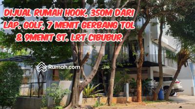 Dijual - Rumah Rindang Asri, 350m Dari Lapangan Golf, 7 Menit dari  Gerbang Tol dan Stasiun LRT Cibubur