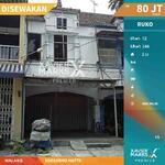 Di Sewakan Ruko Sebrang Krida Budaya di Soekarno Hatta Malang
