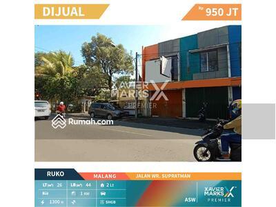 Dijual - Dijual Ruko Strategis di Jalan WR. Supratman kota Malang, Dekat RS Lavalete, RM simpang luwe
