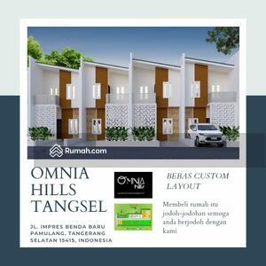 Dijual - Rumah BSD Modern 2 Lantai Omnia Hills