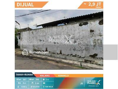 Dijual - Dijual Rumah dan Tanah Hitung Harga Tanah daerah Karanglo Malang