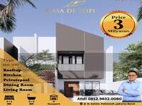 Dijual - Town House Modern Casa De Slipi di Kemanggisan Slipi Palmerah Jakarta Barat