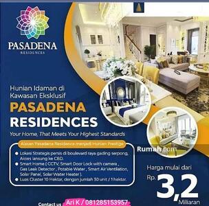 Dijual - Pasadena residences