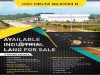 Dijual - Kavling Industri Delta Silicon 8 Lippo Cikarang