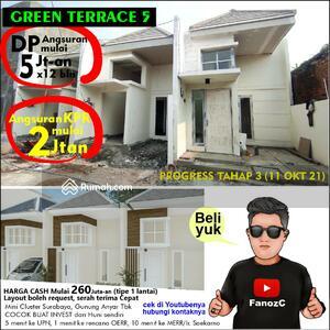 Dijual - green terrace 5, rumah surabaya murah, 1 lantai
