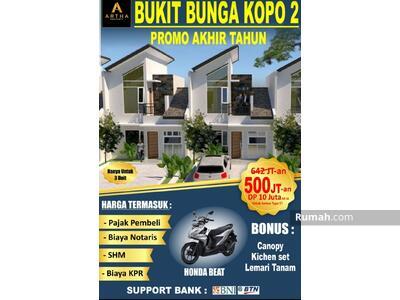 Dijual - PROMO KHUSUS  OKTOBER  Beli Rumah dapat Motor Honda Beat