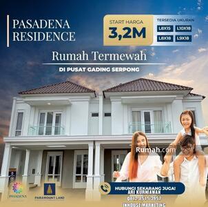 Dijual - Pasadena residence
