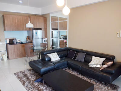 Disewa - Disewakan Murah Apartemen 1 Park Avenue 2 BR Luas 91, 5 m2 Full Furnish