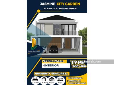 Dijual - Dijual Rumah Cluster Premium 2 LT Full Interior, Belakang Mall SKA