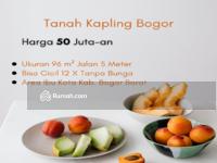 Dijual - Tanah Kapling Bogor 50 Jt-an Cocok Bangun Hunian