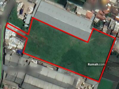 Dijual - FOR SALE Tanah Luas Siap Bangun (Cocok untuk Gudang/Pabrik) di Jl. Cigondewah Hilir