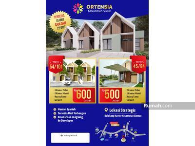 Dijual - Ortensia Mountain View