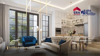 Dijual - Dijual Rumah Baru 3 Lantai Bergaya Luxury Modern Harga Promo @Bukit Podomoro Klender Jakarta Timur
