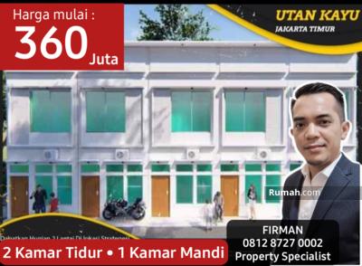 Dijual - Rumah Cluster Murah Minimalis Moncokerto, Utankayu, Jakarta Timur