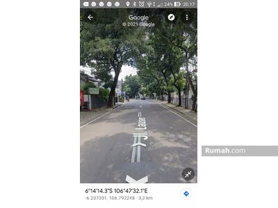 Dijual - Rumah Jl. Lauser, Kby Baru