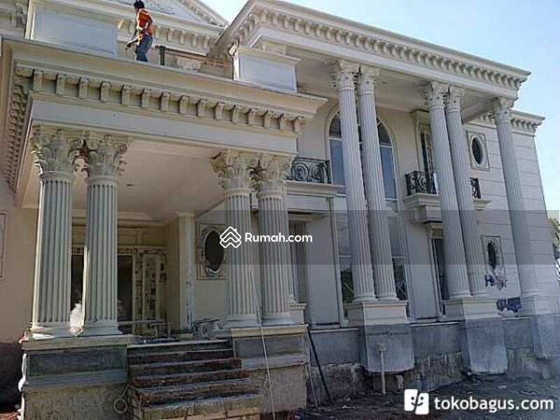 rumah mewah model klasik modern gaya eropa di ancol timur