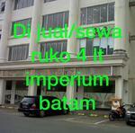 Dijual/Disewa Ruko Superblok Imperium Batam